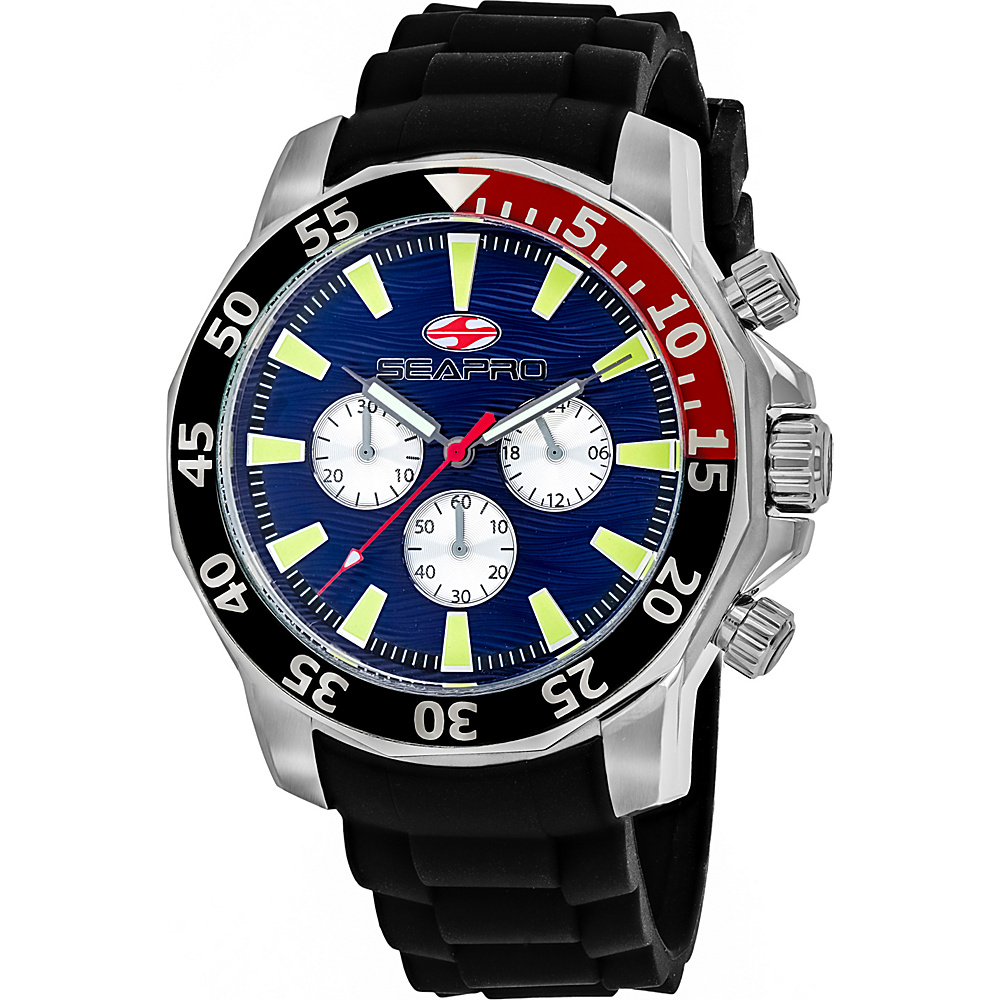Seapro Watches Men s Scuba Explorer Watch Blue Seapro Watches Watches