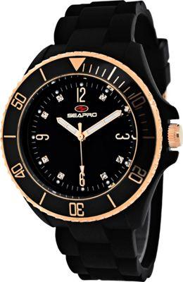 Seapro Watches Women's Sea Bubble Watch Black - Seapro Watches Watches
