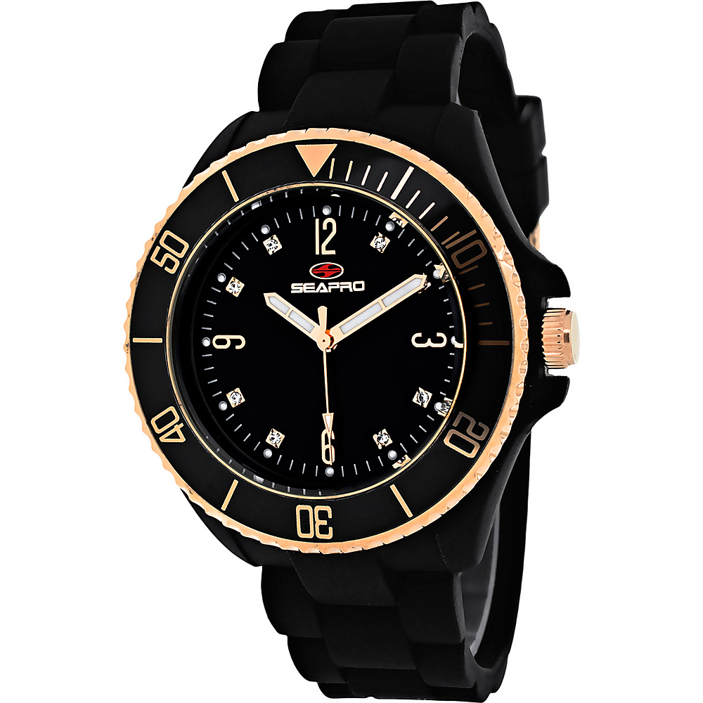 Seapro Watches Women s Sea Bubble Watch Black Seapro Watches Watches