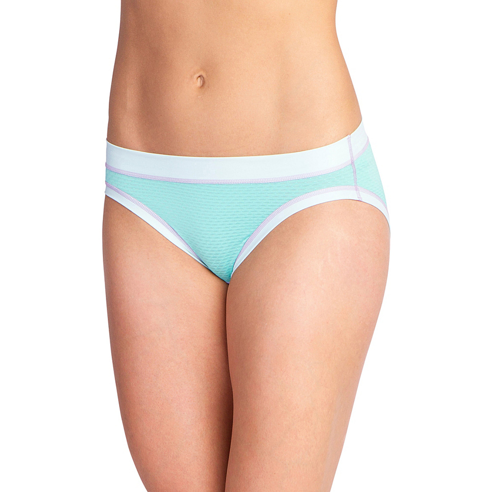 ExOfficio Womens Give-N-Go Sport Mesh Hi Cut Brief S - Isla - ExOfficio Womens Apparel - Apparel & Footwear, Women's Apparel