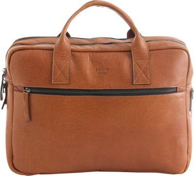Still Nordic Clean Brief 2 Room Cognac - Still Nordic Designer Handbags