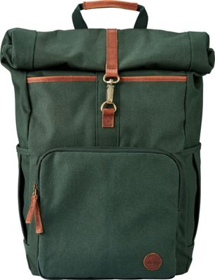 Timberland Wallets Walnut Hill Roll Top Backpack Olive - Timberland Wallets Laptop Backpacks