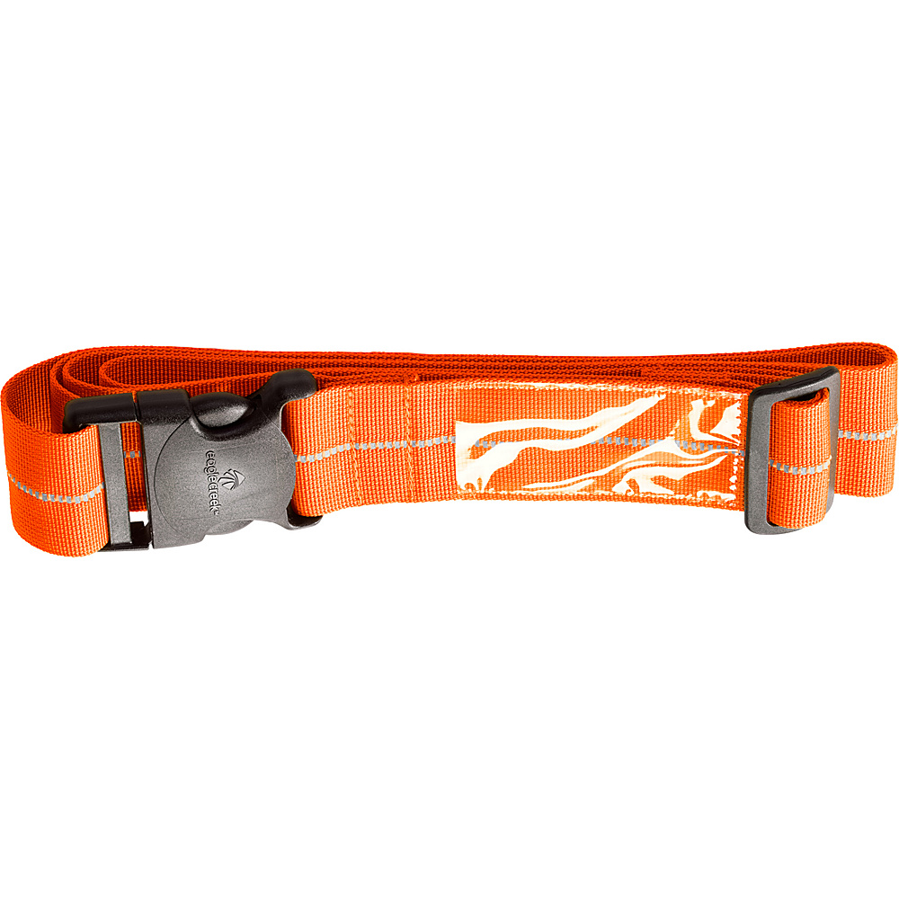 Eagle Creek Reflective Luggage Strap Flame Orange - Eagle Creek Luggage Accessories - Travel Accessories, Luggage Accessories