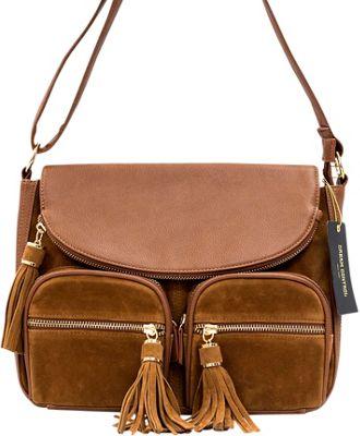 Like Dreams Maria Crossbody Cognac - Like Dreams Manmade Handbags