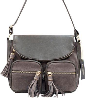 Like Dreams Maria Crossbody Grey - Like Dreams Manmade Handbags