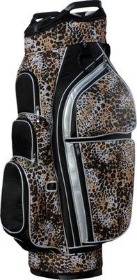 Taboo Fashions Allure Cart Bag Safari - Taboo Fashions Golf Bags