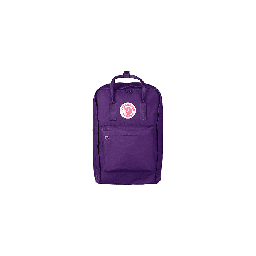 Fjallraven Kanken 15 Backpack Purple - Fjallraven Business & Laptop Backpacks - Backpacks, Business & Laptop Backpacks