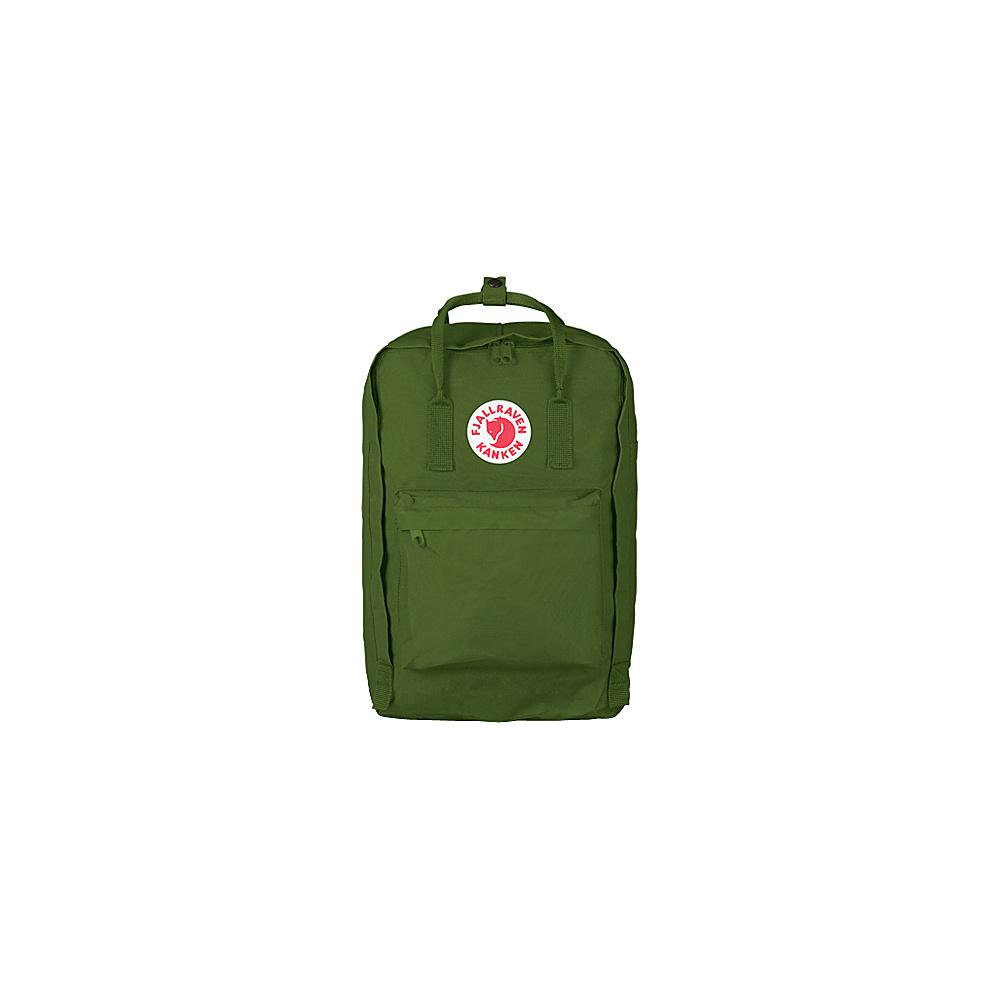 Fjallraven Kanken 15 Backpack Leaf Green - Fjallraven Laptop Backpacks - Backpacks, Laptop Backpacks