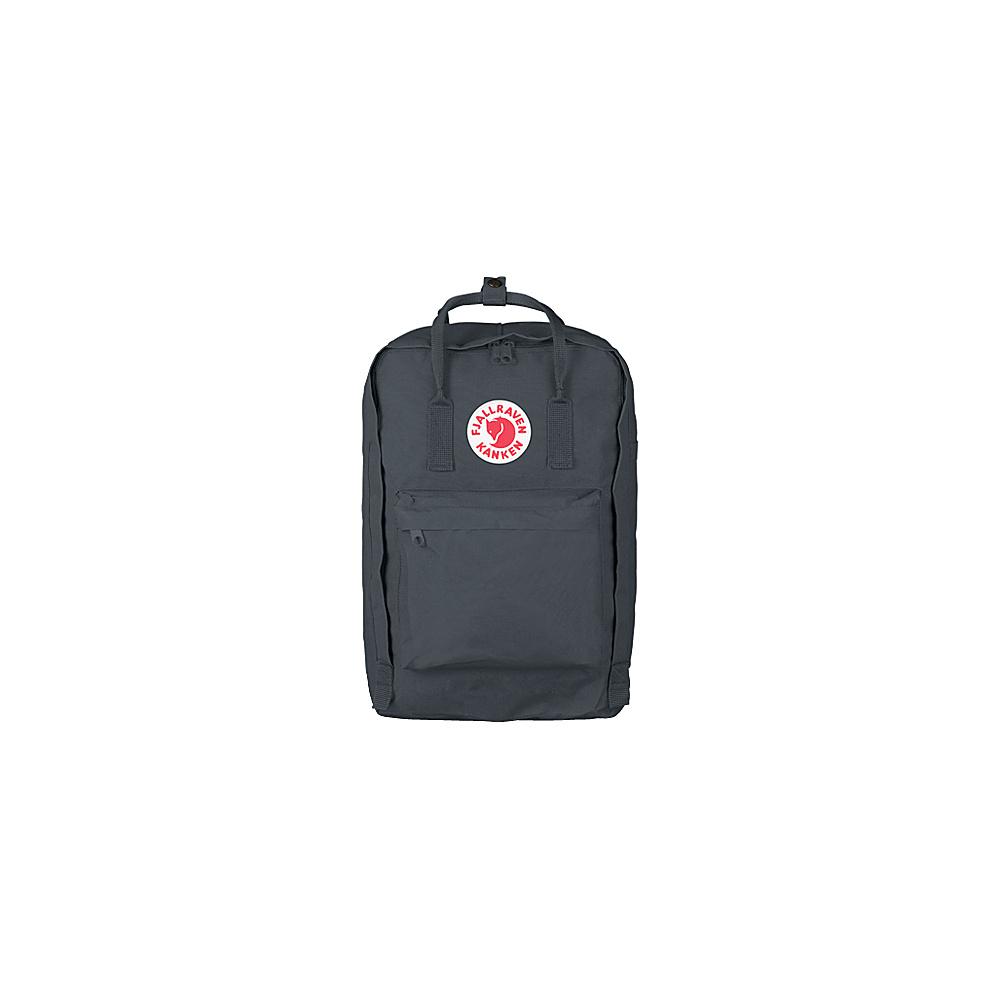 Fjallraven Kanken 15 Backpack Graphite - Fjallraven Laptop Backpacks - Backpacks, Laptop Backpacks