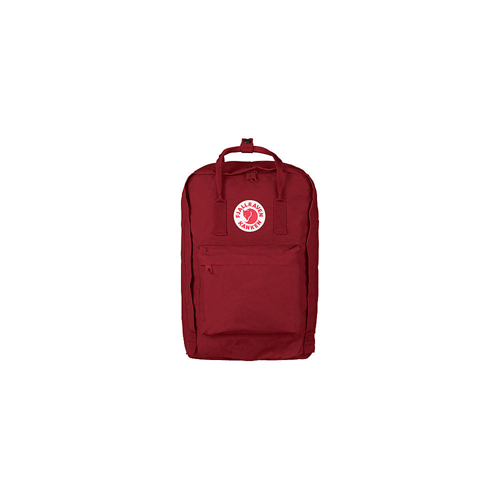 Fjallraven Kanken 15 Backpack Ox Red - Fjallraven Business & Laptop Backpacks - Backpacks, Business & Laptop Backpacks