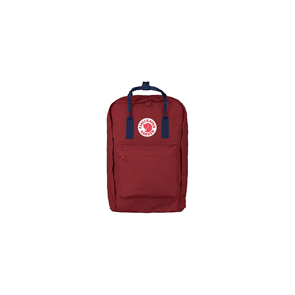 Fjallraven Kanken 15 Backpack Ox Red-Royal Blue - Fjallraven Laptop Backpacks - Backpacks, Laptop Backpacks