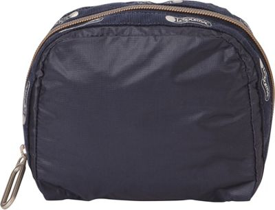 LeSportsac Square Essential Cosmetic Bag Classic Navy C - LeSportsac Women's SLG Other 10546521