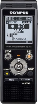 Olympus 8GB Digital Voice Recorder Black - Olympus Portable Entertainment