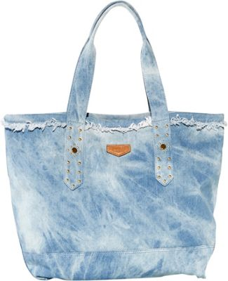 Aimee Kestenberg Handbags Cannes Denim Tote Tie Dye Denim - Aimee Kestenberg Handbags Fabric Handbags