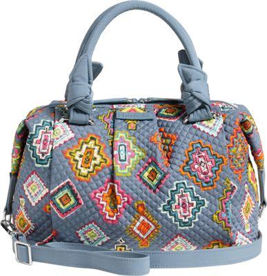 Vera Bradley Hadley Satchel Painted Medallions - Vera Bradley Fabric Handbags