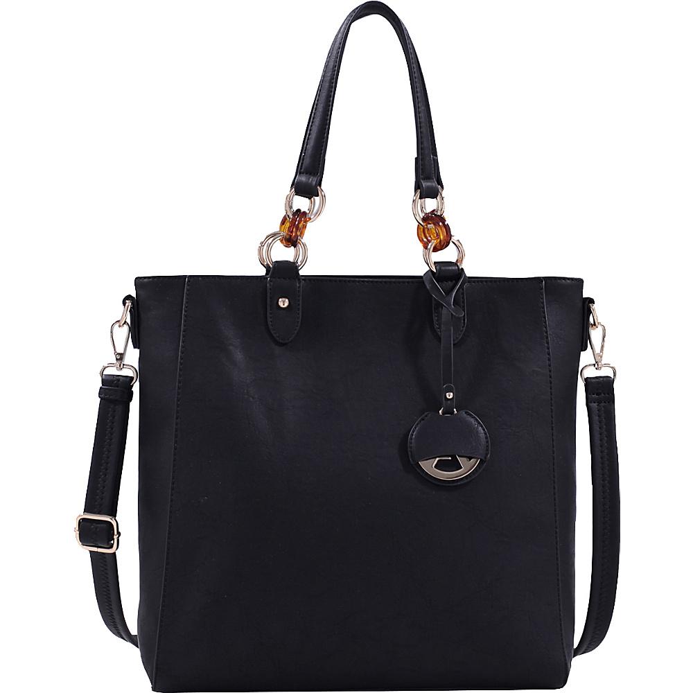 MKF Collection by Mia K. Farrow Mila Tote Bag Black - MKF Collection by Mia K. Farrow Manmade Handbags - Handbags, Manmade Handbags