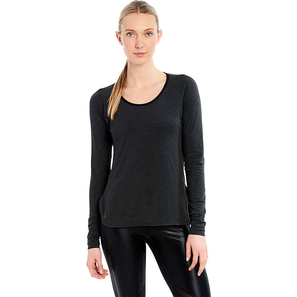 Lole Kendra Top XS - Black Heather - Lole Womens Apparel - Apparel & Footwear, Women's Apparel