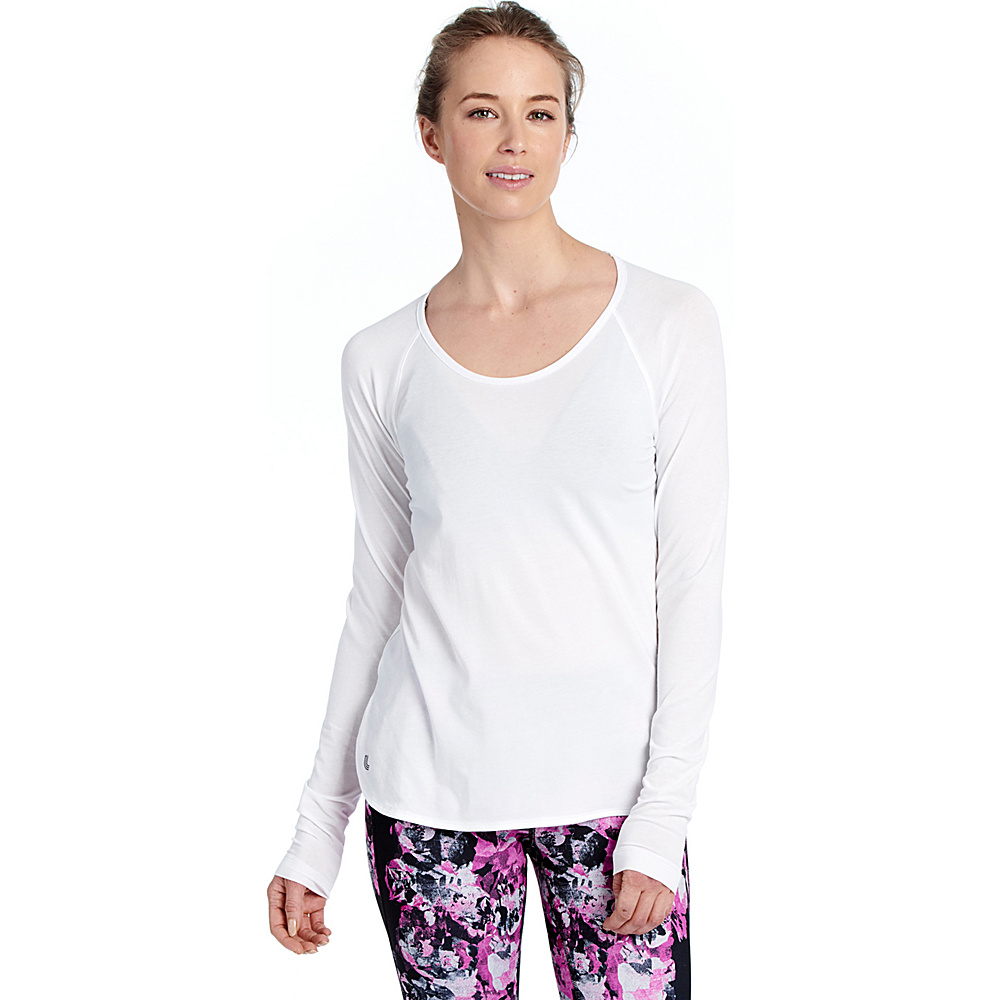 Lole Kendra Top S - White - Lole Womens Apparel - Apparel & Footwear, Women's Apparel