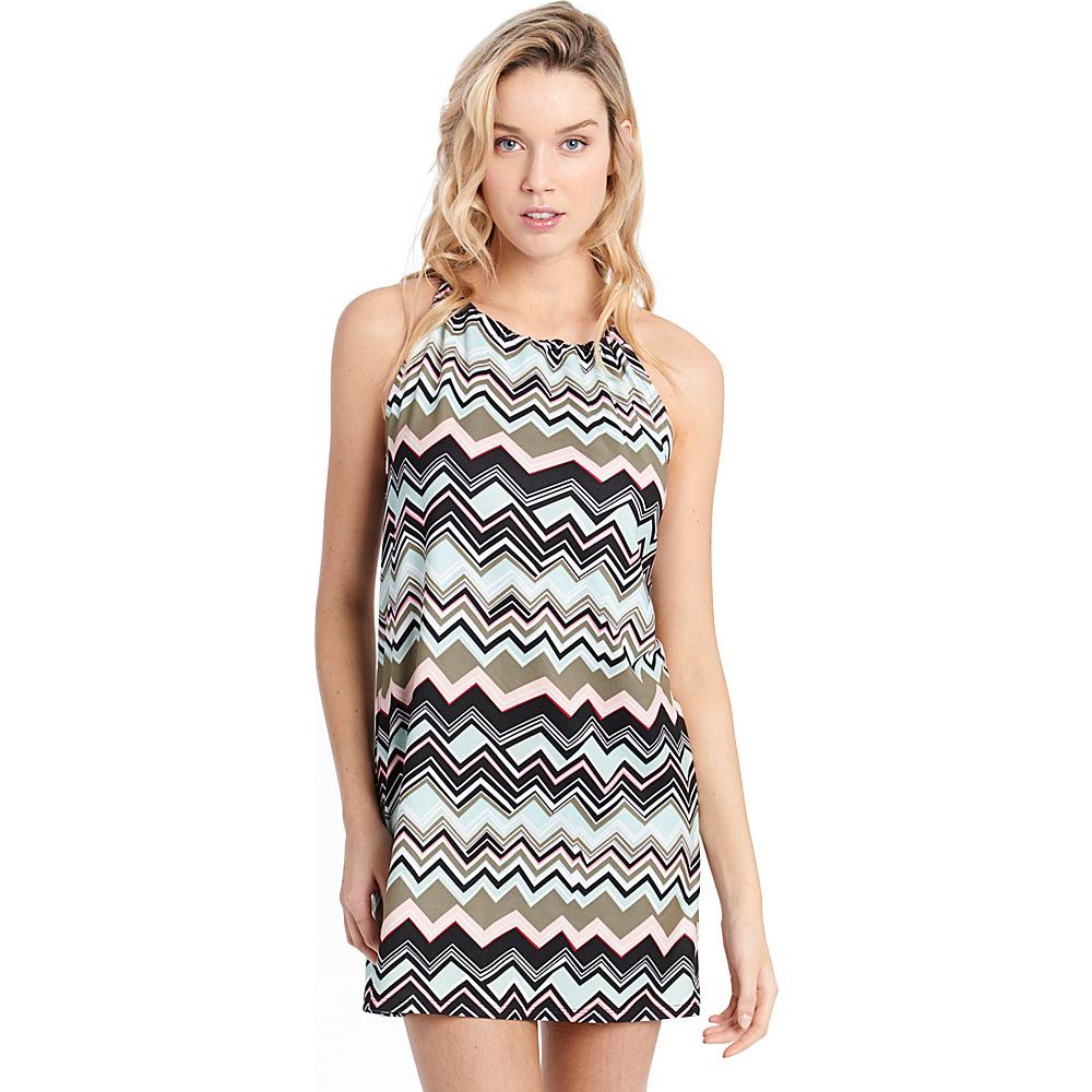 Lole Britt Tunic XS - Lichen Chevron Stripe - Lole Womens Apparel - Apparel & Footwear, Women's Apparel