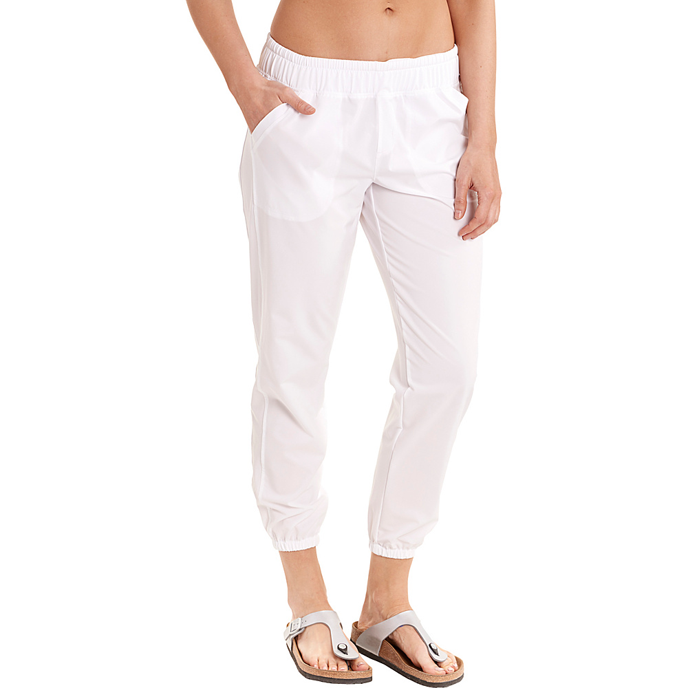 Lole Olivie Pants XS - White - Lole Womens Apparel - Apparel & Footwear, Women's Apparel