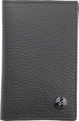 Rapport London Berkeley Leather Wallet Grey - Rapport London Men's Wallets