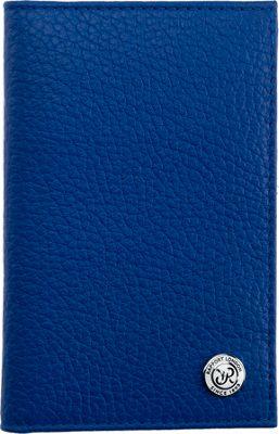 Rapport London Berkeley Leather Wallet Blue - Rapport London Men's Wallets
