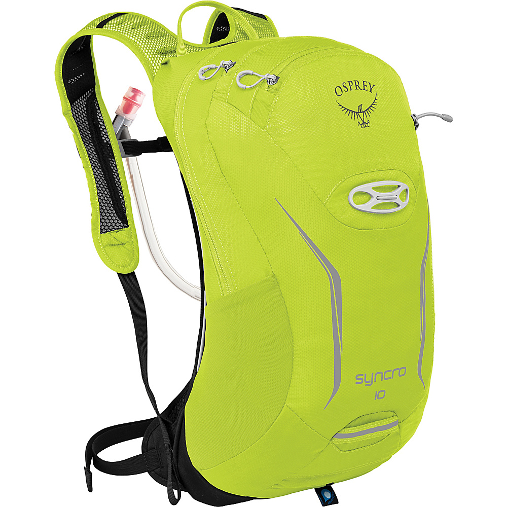 Osprey Syncro 10 Hydration Pack Velocity Green - S/M - Osprey Hydration Packs - Backpacks, Hydration Packs