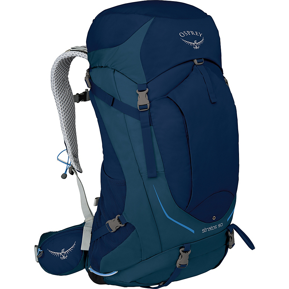 Osprey Stratos 36 Hiking Pack Eclipse Blue – S/M - Osprey Backpacking Packs - Outdoor, Backpacking Packs