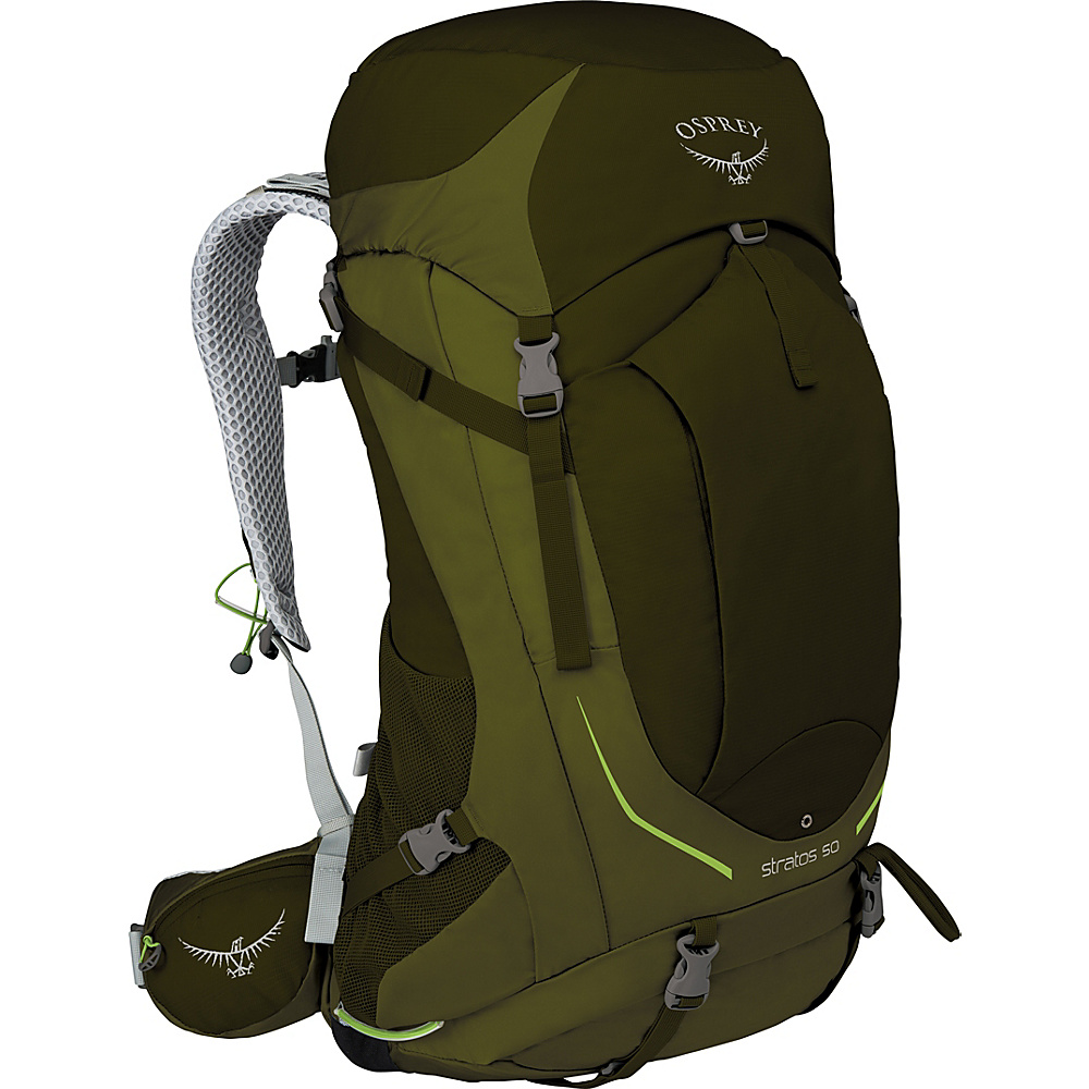Osprey Stratos 36 Hiking Pack Gator Green – S/M - Osprey Backpacking Packs - Outdoor, Backpacking Packs