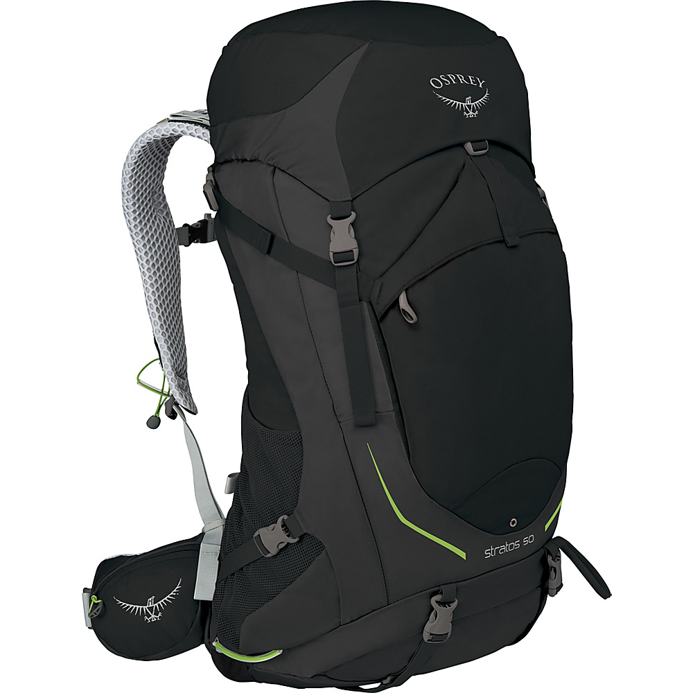 Osprey Stratos 36 Hiking Pack Black - M/L - Osprey Backpacking Packs - Outdoor, Backpacking Packs