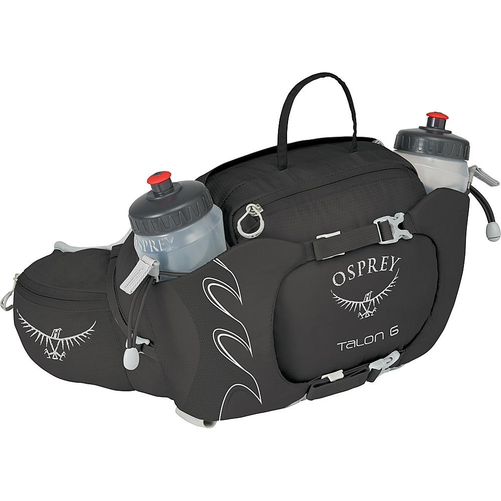 Osprey Talon 6 Waistpack Black - Osprey Waist Packs - Backpacks, Waist Packs
