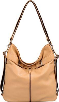 Mellow World Heather Backpack Khaki - Mellow World Manmade Handbags