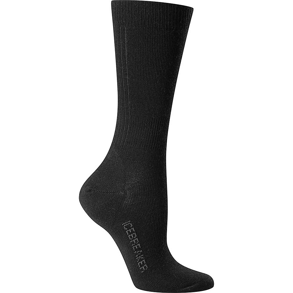 Icebreaker Womens Lifestyle Ultra Light Crew Sock S - Black - Icebreaker Mens Legwear/Socks - Apparel & Footwear, Men's Legwear/Socks