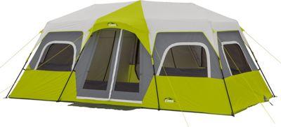 Core Equipment 12P Instant Cabin Tent Green - Core Equipment Outdoor Accessories