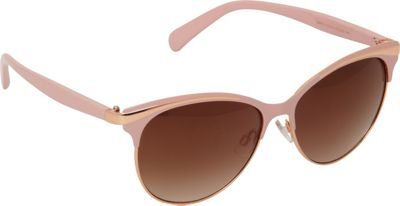 Circus by Sam Edelman Sunglasses Metal Cat Eye Sunglasses Pink - Circus by Sam Edelman Sunglasses Eyewear