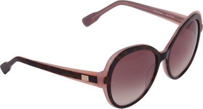 Elie Tahari Sunglasses Plastic Glam Sunglasses Tortoise/Pink - Elie Tahari Sunglasses Eyewear