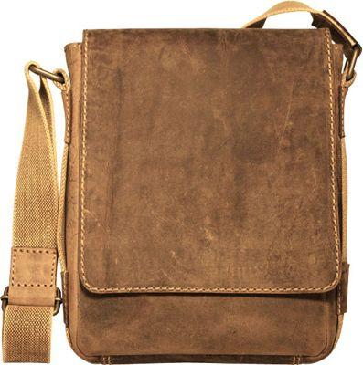 Jack Georges Arizona Crossbody Messenger Bag Brown - Jack Georges Messenger Bags