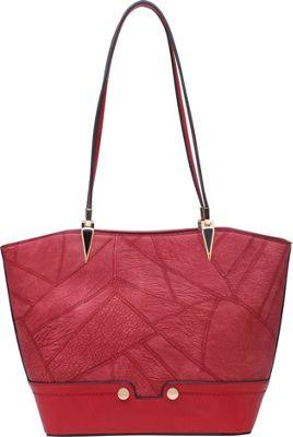 SW Global Saffron Shoppe Tote Red - SW Global Manmade Handbags