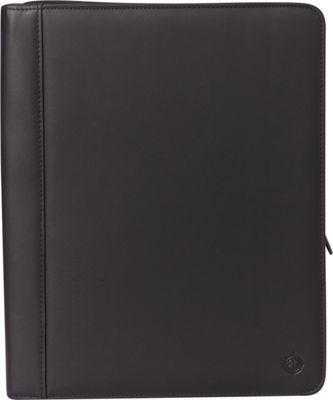 Franklin Covey Monarch Size Secure Zip-Around Padfolio / Writing Pad with Extensive Business Organizer and Calculator Black - Franklin Covey Business Accessories