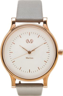Martian Watches Martian CL 06 Smartwatch Creme Dial / Rose Gold Stainless Steel Case / Oyst - Martian Watches Wearable Technology