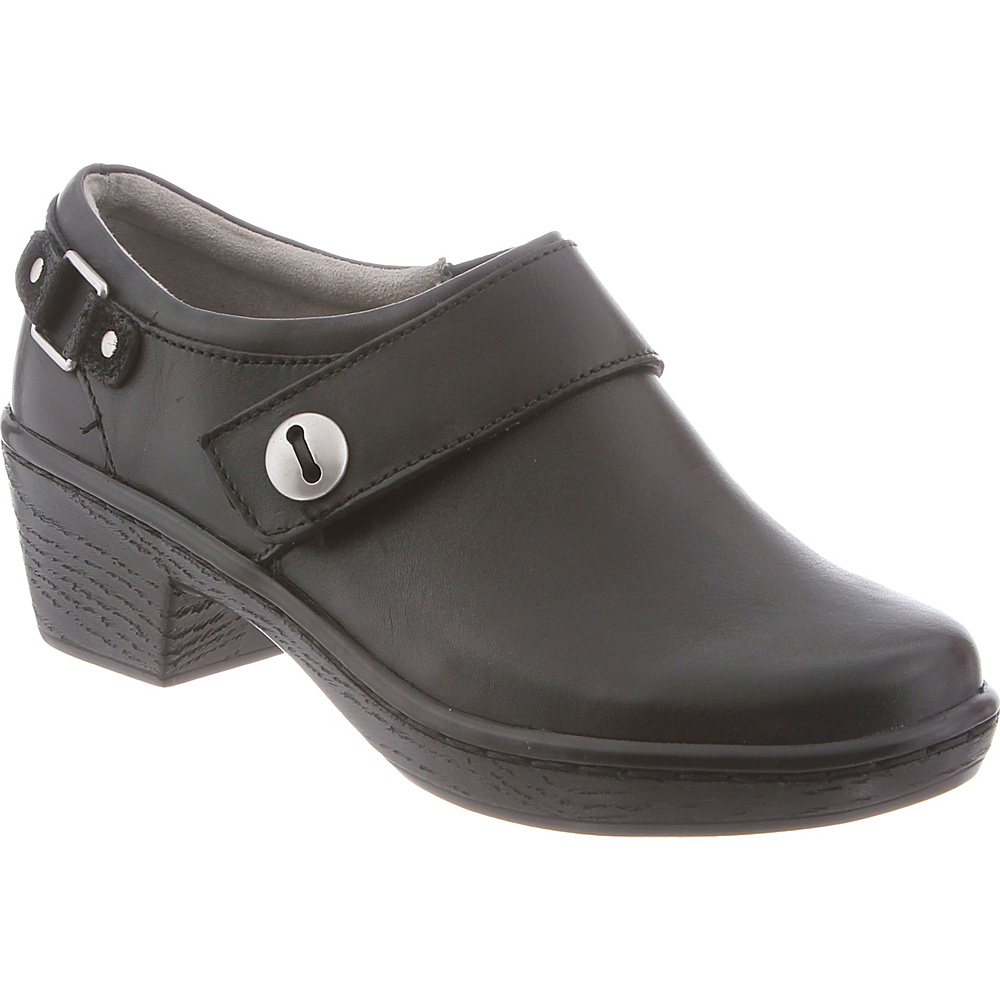 KLOGS Footwear Womens Landing 6 - M (Regular/Medium) - Black Smooth - KLOGS Footwear Womens Footwear - Apparel & Footwear, Women's Footwear