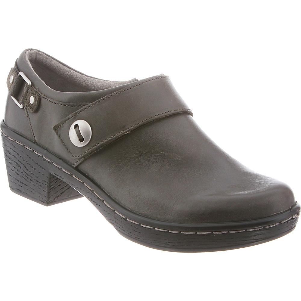 KLOGS Footwear Womens Landing 6 - M (Regular/Medium) - Slate Smooth - KLOGS Footwear Womens Footwear - Apparel & Footwear, Women's Footwear
