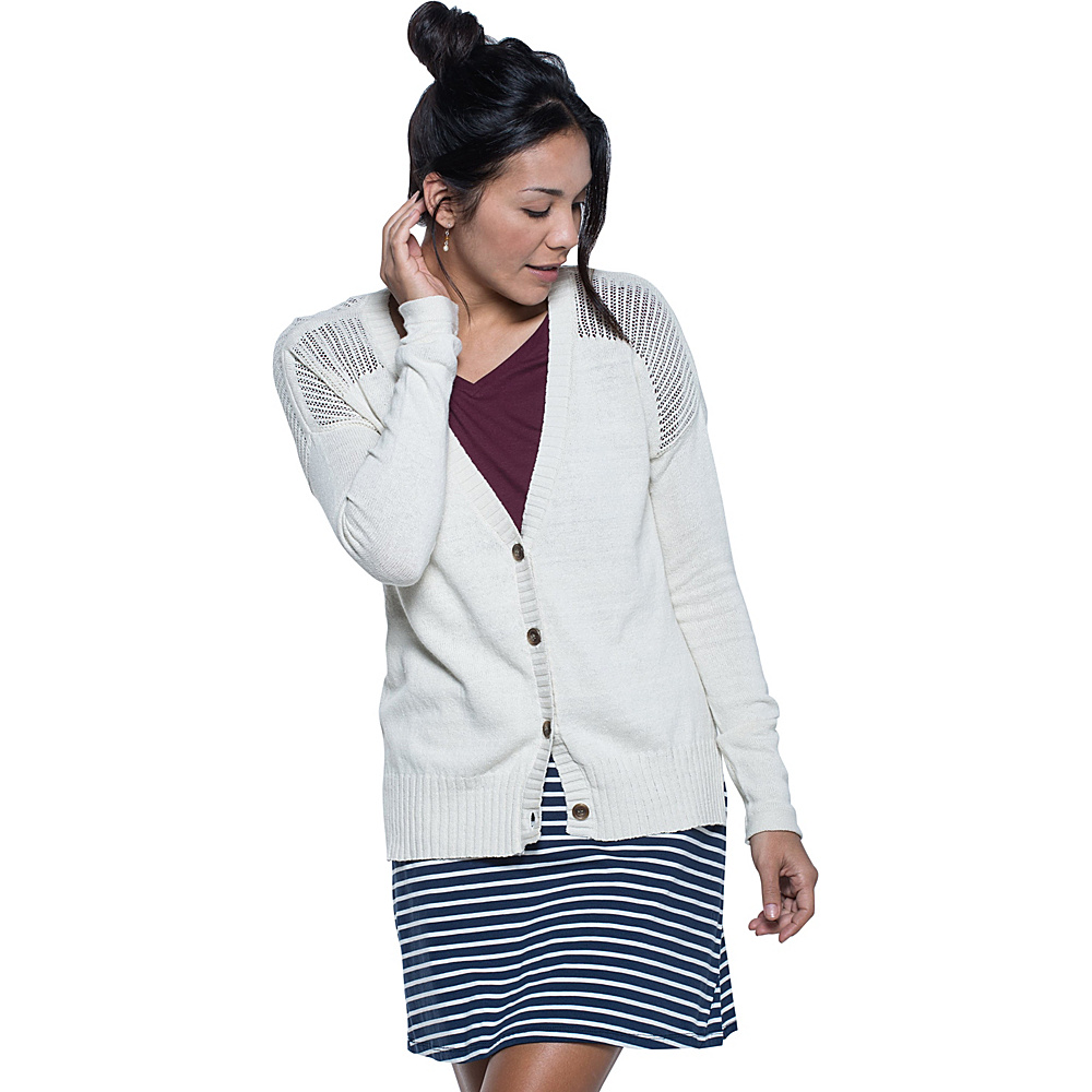 Toad & Co Floreana Cardie XS - Salt - Toad & Co Womens Apparel - Apparel & Footwear, Women's Apparel