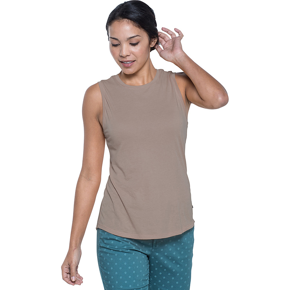 Toad & Co Tissue Vented Tank L - Falcon Brown - Toad & Co Womens Apparel - Apparel & Footwear, Women's Apparel