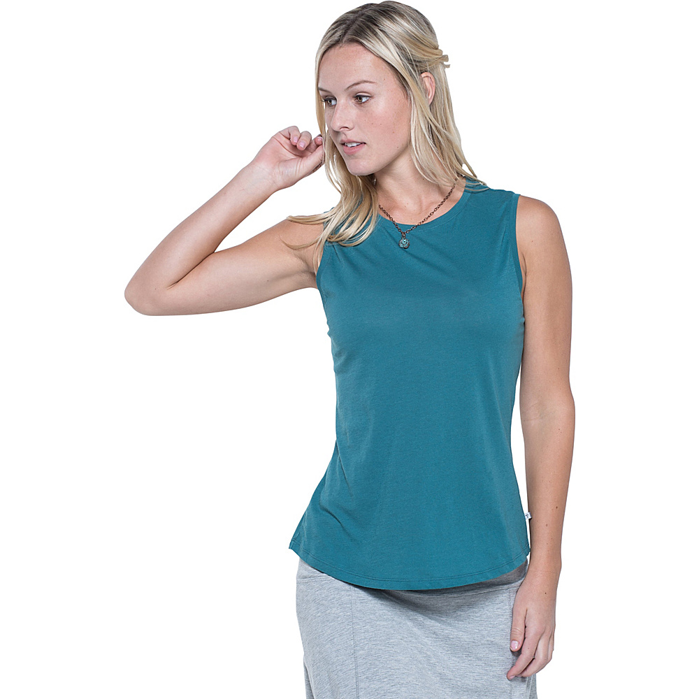 Toad & Co Tissue Vented Tank S - Hydro - Toad & Co Womens Apparel - Apparel & Footwear, Women's Apparel