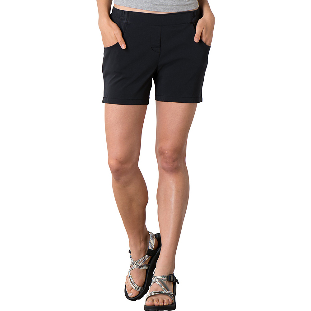 Toad & Co Jetlite Short S - 5in - Black - Toad & Co Womens Apparel - Apparel & Footwear, Women's Apparel