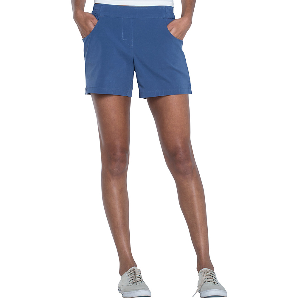 Toad & Co Jetlite Short XL - 5in - Indigo - Toad & Co Womens Apparel - Apparel & Footwear, Women's Apparel