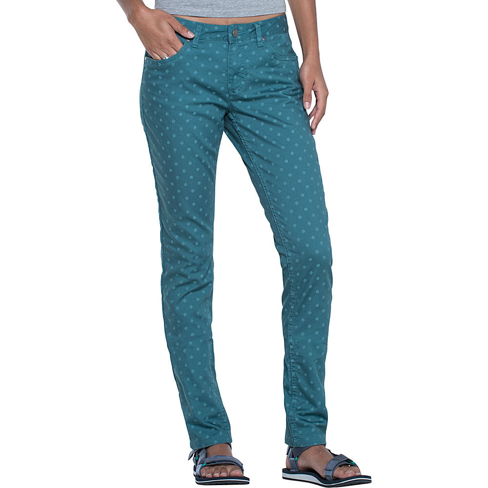 Toad & Co Lola Jean Slim 12 - 32in - Hydro Polka Dot Print - Toad & Co Womens Apparel - Apparel & Footwear, Women's Apparel