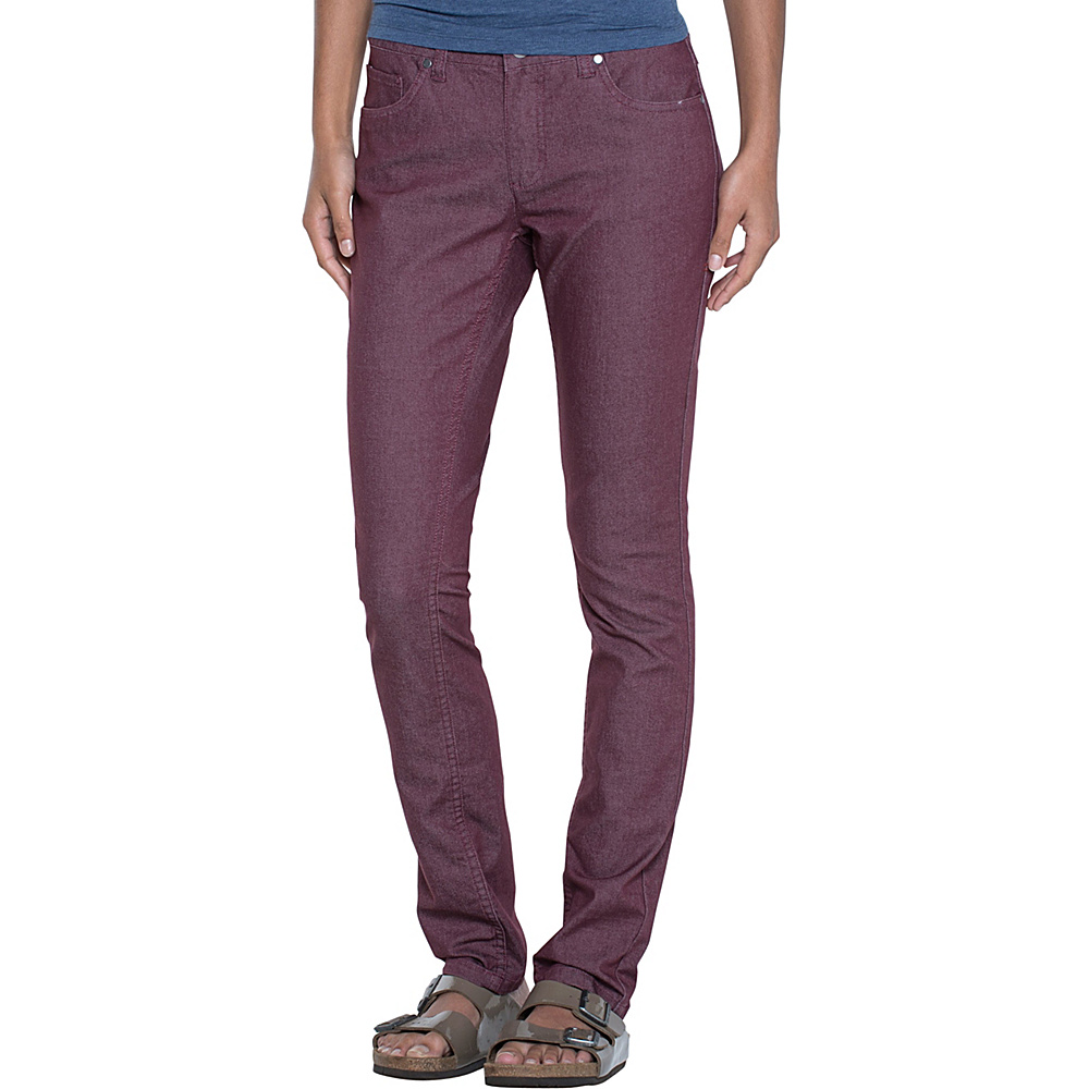 Toad & Co Lola Jean Slim 10 - 32in - Sangria - Toad & Co Womens Apparel - Apparel & Footwear, Women's Apparel