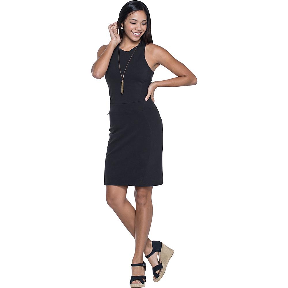 Toad & Co Transita Dress XL - Black - Toad & Co Womens Apparel - Apparel & Footwear, Women's Apparel
